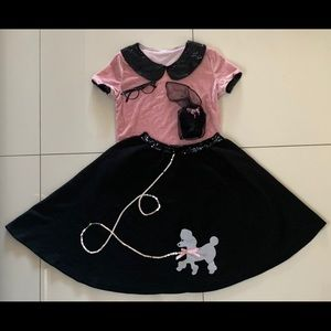 50's Hop with Poddle Skirt Costume